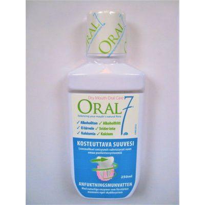 Oral7 kosteuttava entsyymisuuvesi 250 ml