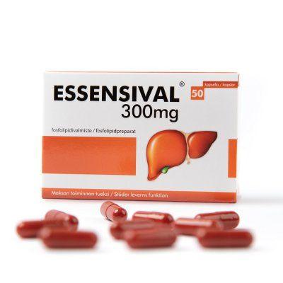 Essensival 300 mg 50 kaps