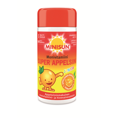 MINISUN MULTIVITAMIN JUNIOR 100 PURUTABL