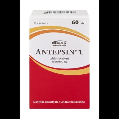 ANTEPSIN 1 g tabl 60 fol