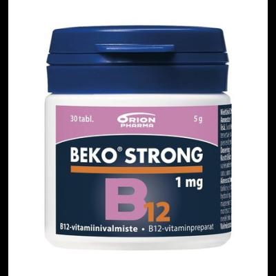 BEKO STRONG B12 1MG 30 TABL