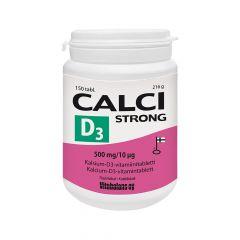 Calci Strong + D3 500mg/10mikrog 150 tabl