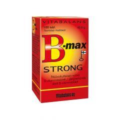B-MAX STRONG RAVINTOLISÄ, (48505) X100TABL